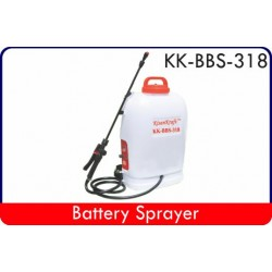 Batter Power Sprayer